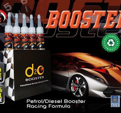 d2o Booster untuk kenderaan petrol dan disel