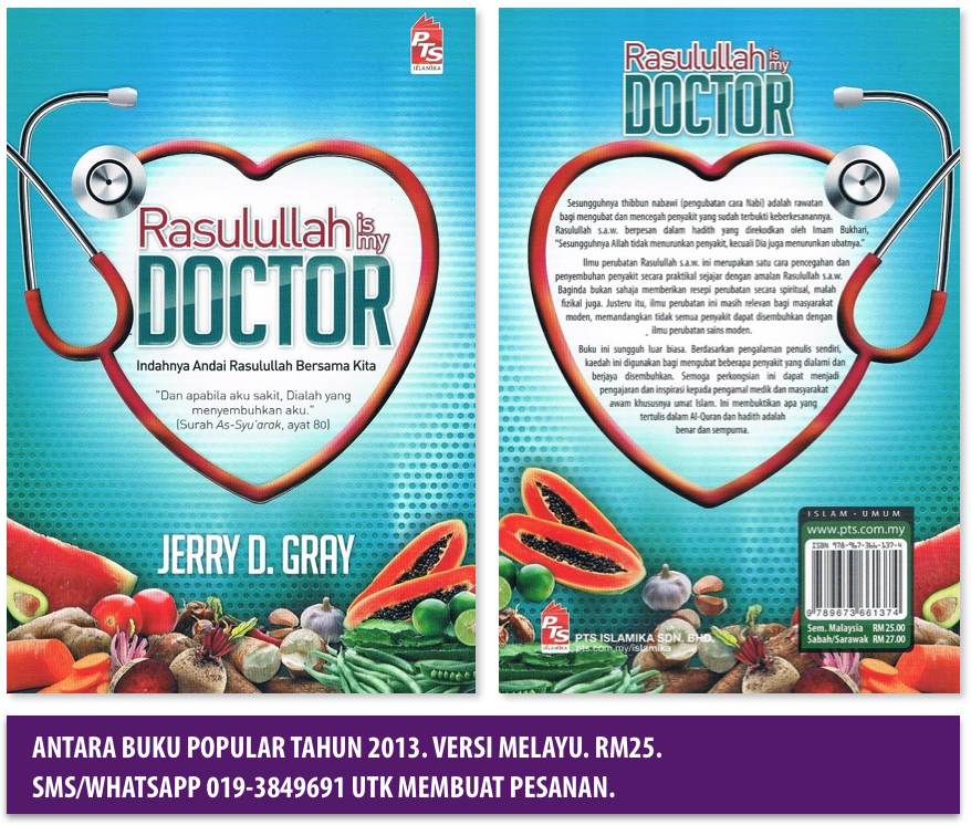 Ulasan Buku Rasulullah is My Doctor Versi Melayu