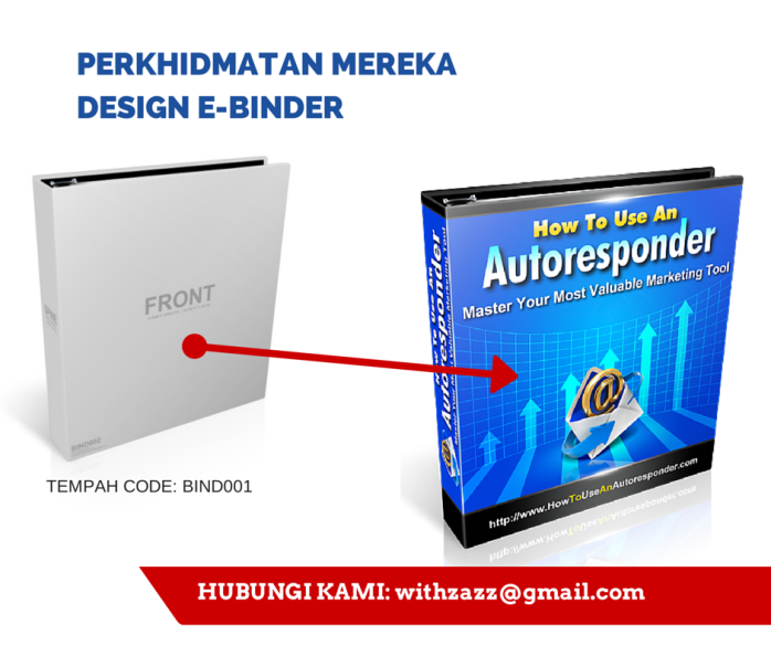 Reka Design Binder atau Fail